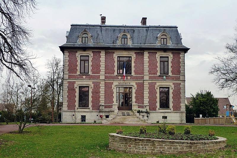 Façade Sud de la Mairie d'Othis